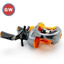Genuine GW Baitcasting reel Precision throw 9 axis Fishing whell Magnetic brake Jigging Surf casting Coil Carp Pike Snakehead