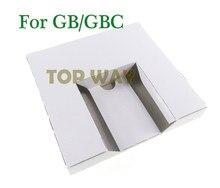 Bandeja de inserción interna de cartón de repuesto, para GB, cartucho de juego GBC, versión US y JP, 50 Uds.