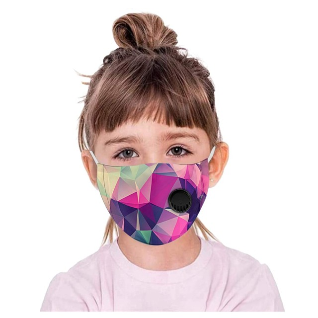 Kids Boys Girl Cotton Washable Cartoon Facemask Cartoon Maske Activated Carbon Face Maskswashable And Reusable Scarf Maske 9 3