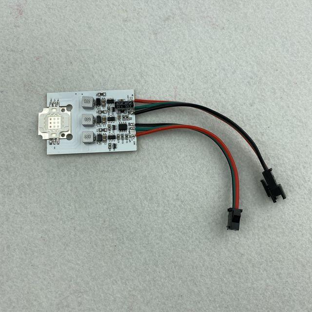 3W/9W גבוהה כוח WS2811 מבוקר led פיקסל מודול; DC12 24V קלט; RGB מיעון מלא צבע
