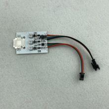3W/9W wysokiej mocy sterowany WS2811 moduł led piksel; Wejście DC12 24V; Adresowalny kolorowy RGB