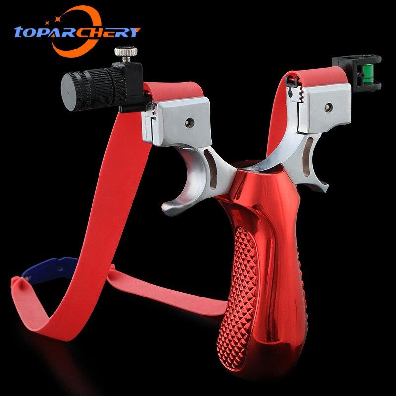 Fronde Laser avec bande en caoutchouc, haute précision, 98K, catapulte de tir puissante pour jeu de chasse en plein air 3