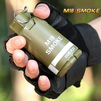 CS Eat Chicken Tactical Hunting Water Bomb Mine Grenade Burst Toy Gun Outdoor Water Bomb Mine Sound And Light Grenade COS 3