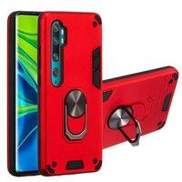 Antiurto Armatura Anello Magnetico del Supporto del telefono Per Il Caso di Xiaomi Redmi Nota CC9 8T 6 10 5X A1 6X A2 s2 Y2 7S Lite Pro Caso Della Copertura Posteriore