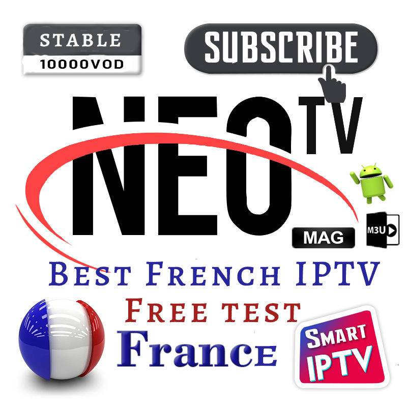 1 Year Subscription IPTV France Neo TV Pro For IPTV M3u Smarters Belgium Dutch French Smart IPTV Europe Arabic Pk QHDTV Volka