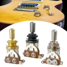 3 Way Toggle Switch & Tip Pickup Selector Stringed Instruments for Les Paul LP Style Guitar Parts Replacement