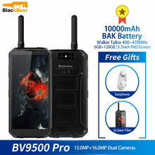 Blackview BV9500 Pro Waterproof Walkie Talkie Smartphone 6GB