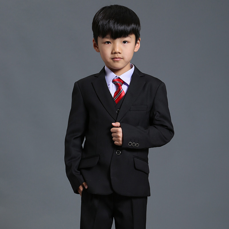 Terno para o menino preto ternos para casamentos terno infantil enfant garcon mariage disfraz infantil meninos ternos crianças ternos formais