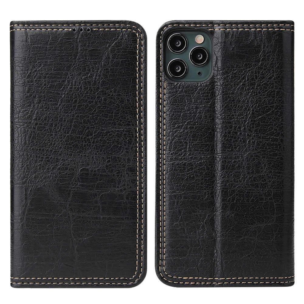 2020 nouveau 4 Couleur Chaude Pas Cher Couverture En Cuir Pour iPhone 7 8 Plus X XR XS 11 Pro Max D'affaires Etui portefeuille Porte-Cartes Béquille