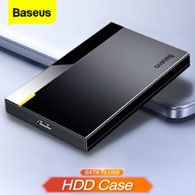 Baseus Hdd Case 2.5 Sata Naar Usb Adapter Harde Schijf Behuizing Voor Ssd Schijf Hdd Box Type C Case Hd externe Hdd Docking Station(China)