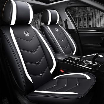Car Seat Cover Set Universal Car Interior Accessories Auto Covers for Ssangyong Actyon Korando Kyron Rexton Car Seat Protector