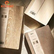 Keang grão de madeira notebook criativo estudante simples engrossado diário bloco de notas mão livro planejador wj32