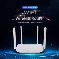 Router Wifi 4G 300mbps sblocca Modem VPN Hotspot CPE 4 Antenna VOLTE Router Wireless Internet Dongle LTE con Slot per schede Sim