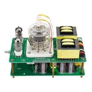 Клаит 3 Вт + 3 Вт аппдж усилитель плата один конец 6J1 FU32 ламповый усилитель плата класса А усилитель мощности Hifi винтажная аудио собранная пла...