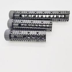 Taktyczny uchwyt ar 15 Picatinny Quad Rail do m4 m16 7 9 12 cali w Elementy mocujące i akcesoria do mikroskopu od Sport i rozrywka na