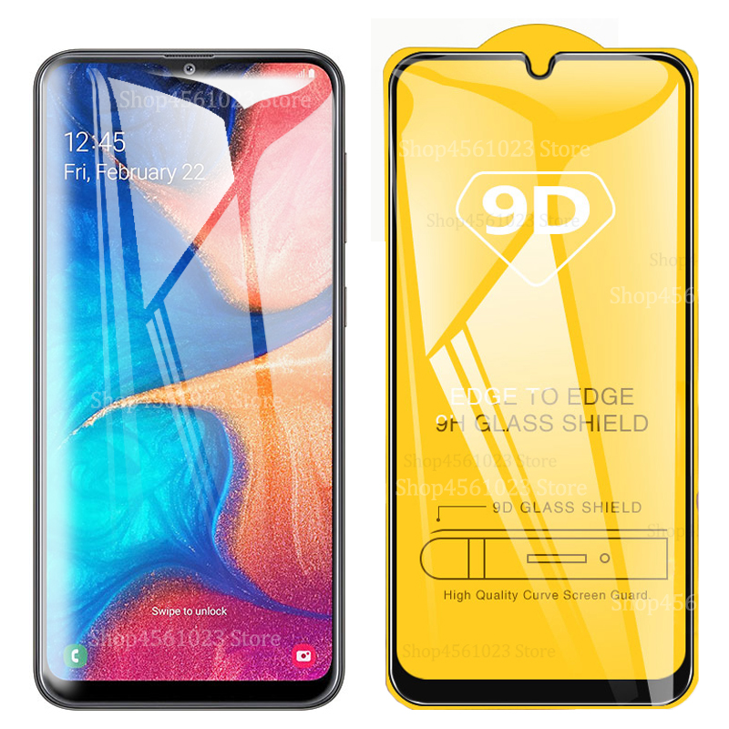 9D <font><b>A20e</b></font> A20 Tempered Glass For <font><b>Samsung</b></font> <font><b>Galaxy</b></font> Galxy <font><b>A20e</b></font> a20 a 20e <font><b>SM</b></font>-<font><b>A202F</b></font> Screen Protector Full Cover 3D Curved Explosion Film image