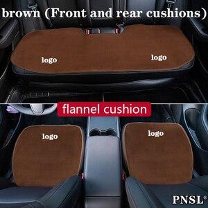 Image 4 - Auto sitzkissen schutz abdeckung anti schmutzig Vorne Hinten Sitz Rückenlehne Pad Matte für Buick GL8 Regal Encore Excelle lacrosse Verano