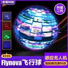 Gyratory Flying Ball DIY Fingertip Gyro Small Toy Suspension Gyratory Magic Gyro Novel LED Light Toy