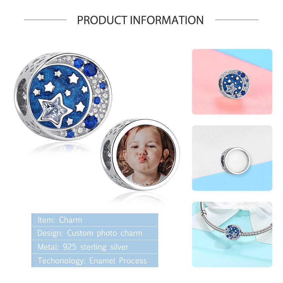 Оригинальный браслет ELESHE из стерлингового серебра 925 пробы с подвеской на заказ с кристаллами, подходит для браслета Pandora, аксессуары для рукоделия, Женские Ювелирные изделия