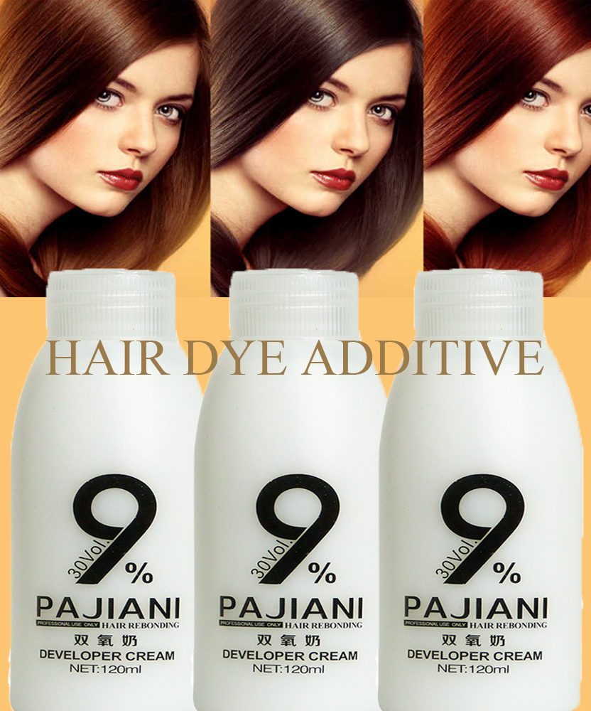 Double oxygen milk Peroxide Speed up the pigment into the hair colors 120ML