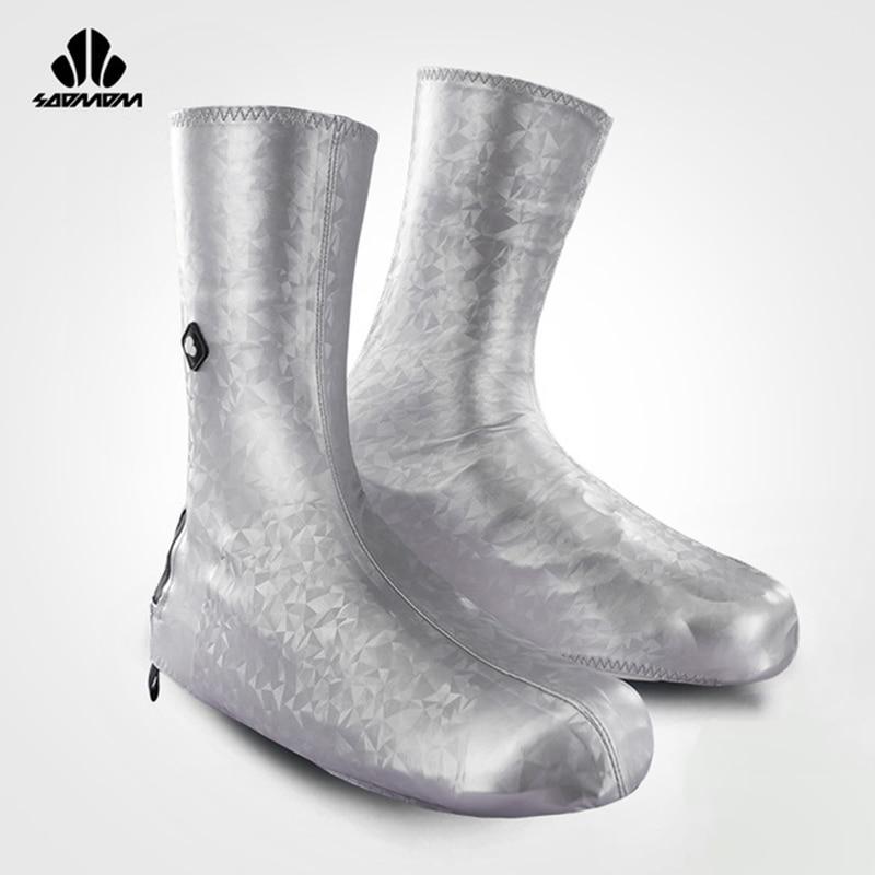 SOOMOM couvre-chaussures en néoprène imperméable à l'eau cyclisme chaussures couverture vtt Rode vélo chaussures couverture professionnel coupe-vent fermeture éclair surchaussures