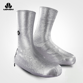 SOOMOM neoprenowy pokrowiec na buty wodoodporny pokrowiec na buty kolarskie MTB Rode buty rowerowe pokrowiec profesjonalny wiatroszczelny zamek błyskawiczny tanie i dobre opinie Poliester Pasuje prawda na wymiar weź swój normalny rozmiar size 38-44 is okay size 6-10 is okay