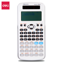 Deli 2019 new Scientific Calculator for students Classic white function calculator Accurate calculation Home office Calculator цены