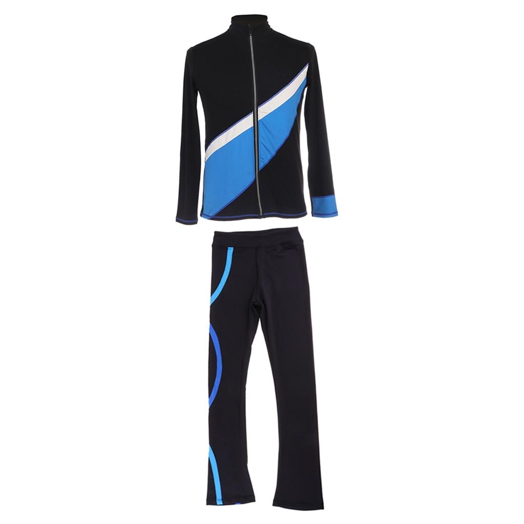 roupas topo jaqueta calças de patinação terno