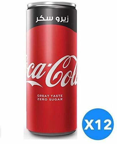 Cocacola Zero Sodas Can - 330ml