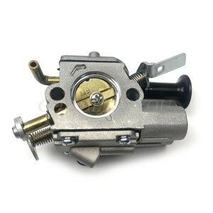 Motosserra carburador carb peças do motor se encaixa para stihl ms261 ms271 ms291 cortador de grama aparador escova cortador peças ferramenta jardim