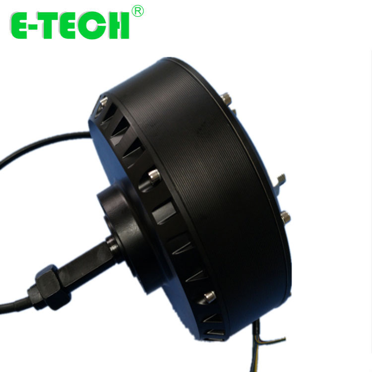 500-<font><b>2000W</b></font> <font><b>Brushless</b></font> <font><b>DC</b></font> High Power Single shaft Wheel Hub <font><b>Motor</b></font> image