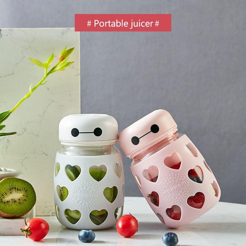 H298ab066038f495d961d2a45e9fff05ar Portable Electric Juicer Blender USB Mini Fruit Mixers Juicers Fruit Extractors Food Milkshake Multifunction Juice Maker Machine