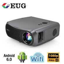CAIWEI 900D 7200 люменов беспроводной Bluetooth Wifi кинопроектор (2 + 16G) Smart Full HD 1920x1080 Native Support 4K