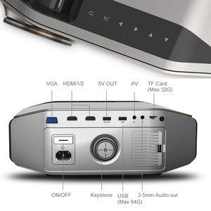 Image 5 - AAO YG620 projektor Full HD natywny 1920x1080P 3D Proyector YG621 bezprzewodowy WiFi Smartphone wieloekranowy Mini HD kino domowe