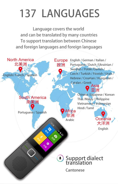 Image 5 - Мгновенный голосовой переводчик офлайн языковый переводчик в реальном времени умный голосовой переводчик портативный мгновенный переводчикЭлектронные переводчики    АлиЭкспресс
