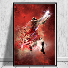 Michael Jordan Dunk Pose Poster And Prints Basketball Superstar Wall Picture On Canvas Wall Art Painting For Living Room Decor michael jordan dunk pose poster and prints basketball superstar wall picture on canvas wall art painting for living room decor