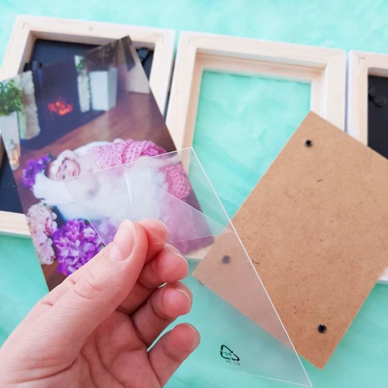 Handprint Footprint Children's Photo Frame 5
