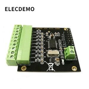 Image 1 - ADS1256 وحدة 24 بت ADC AD وحدة عالية الدقة ADC الحصول على البيانات بطاقة التناظرية لتحويل الرقمية