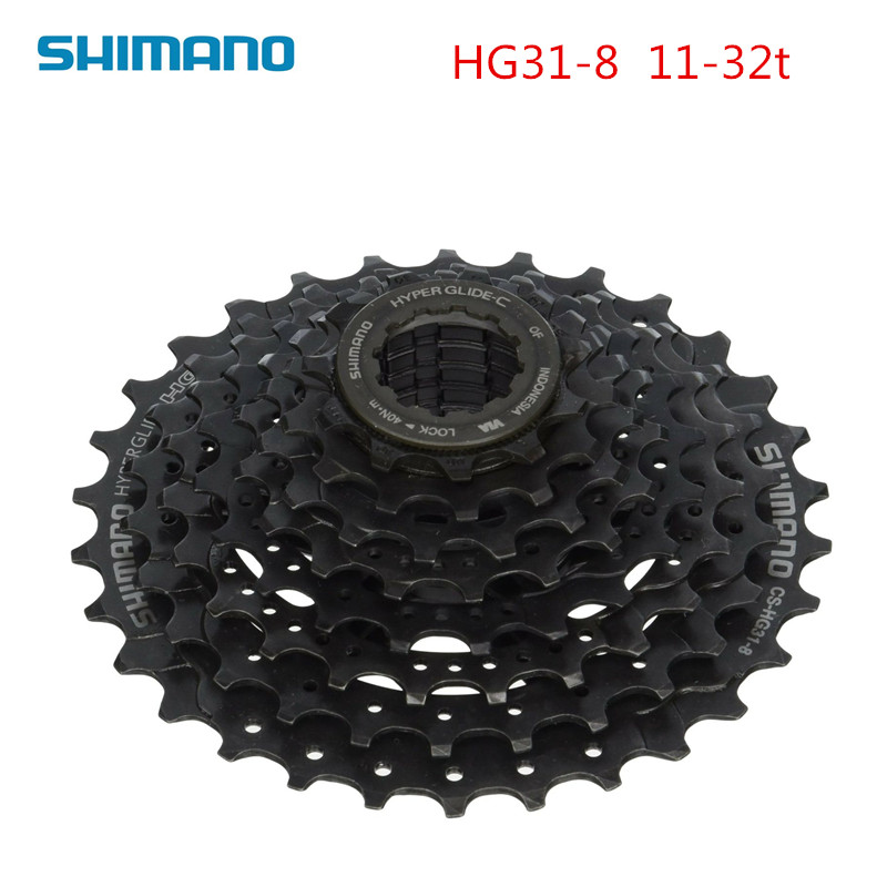<font><b>Shimano</b></font> <font><b>HG31</b></font> Mountain bike bicycle mtb <font><b>8</b></font> speed Speed Cassette 11-32t bike bicycle image