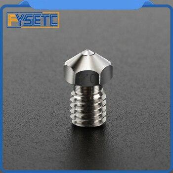 Высокотемпературный титановый сплав MK8 сопло/E3D сапфир/красный распылитель V6 1,75 мм сопла 0,4 мм для PETG ABS PET PEEK нейлон