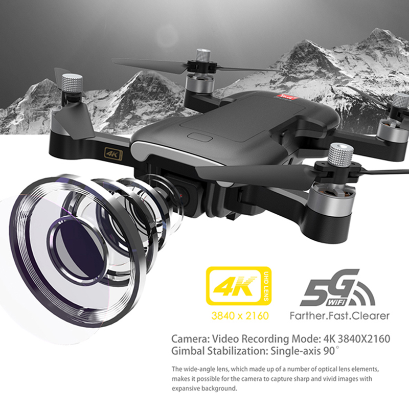 249g 1600M Bugs 7W B7W B7 GPS Drone With 4K HD Camera FPV 5G WIFI Professional Brushless Quadcopter Toy VS E520S F11 F8 SG906 K1