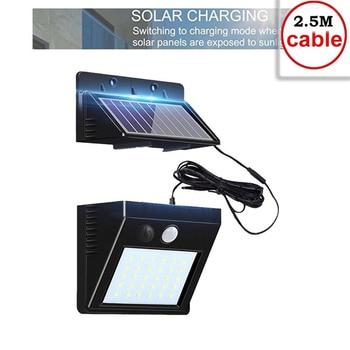 30 LED PIR Motion Sensor Solar Light Waterproof Outdoors Energy Saving Street LED Lamp Yard Path Solar Garden Light indoor home