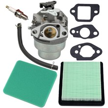 Carburador + junta filtro de ar plug para honda gcv160 motor hrb216 hrr216 hrt216 hrz216 cortador de grama