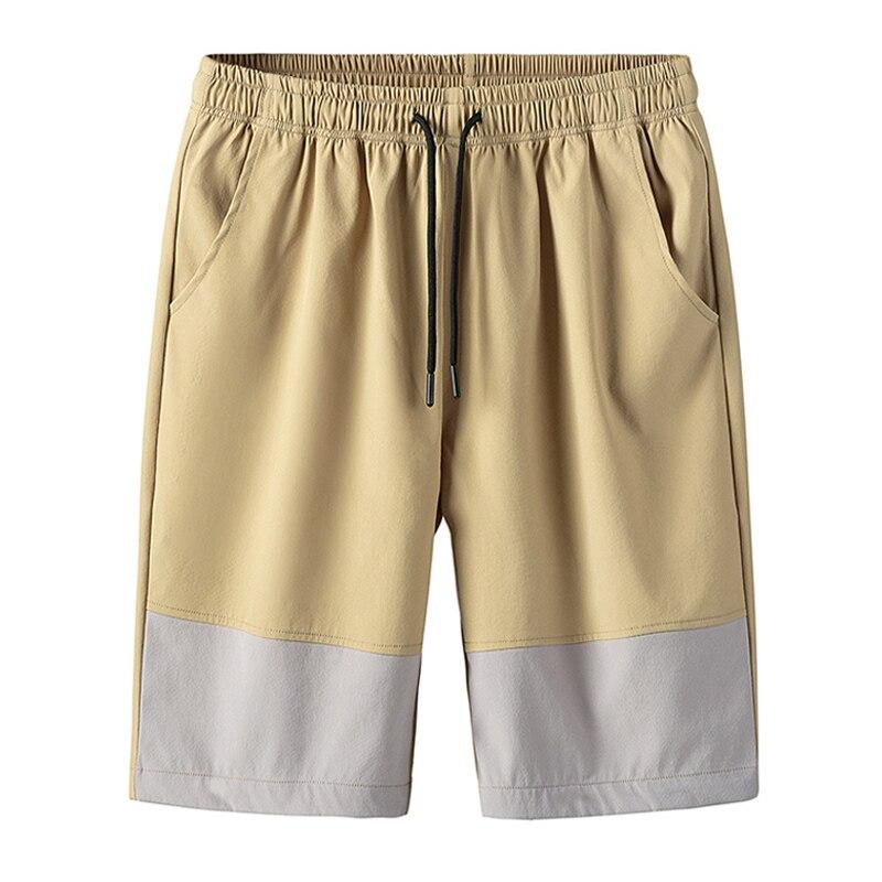 New Shorts Men Summer Mens Beach Elastic Waist Shorts Pants Casual Men's Short Pants Male Breathable Board Shorts Homme Joggers