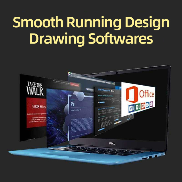 """Dell Inspiron 5580 ultrabook i5 laptop Intel Core i5 8265U MX130 128G SSD1T HDD 15.6""""IPS FHD thin and light notebook"""