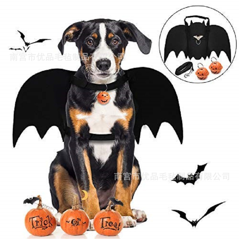 New Style Felt Bat Pet Rope Dogs And Cats Hand Holding Rope Large Dog Car Mounted Safety Belt