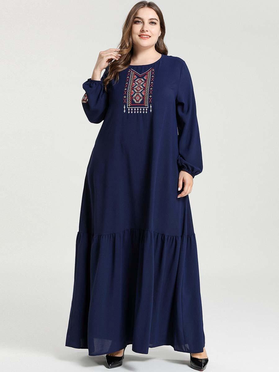 Abaya Kaftan Dubai Hijab Muslim Dress Caftan Turkish Dresses Islamic Clothing For Women Baju Muslim Wanita Robe Musulmane Femme