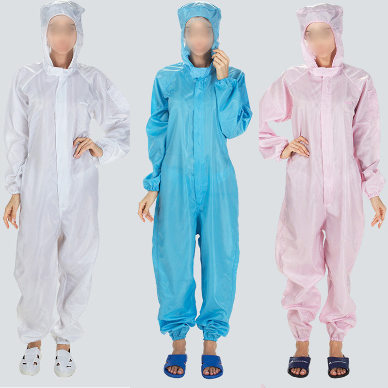 Popular 1PC Boiler Suit Coveralls Protection Suit Disposable Painters Hooded Dust Proof Protective Anti-static High Quality