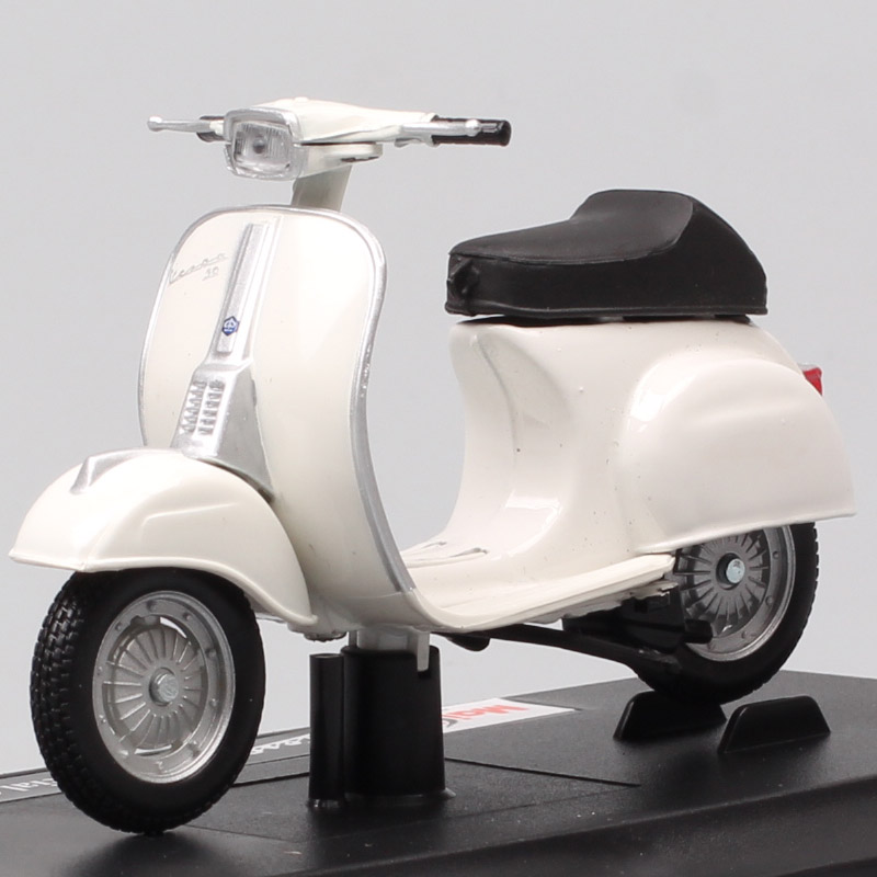 Maisto 1/18 Scale Vintage Piaggio Vespa 50 Special 1969 Scooter Motorcycle Diecast Vehicle Motor Bike Toy Model Of Children Gift