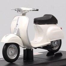Maisto 1/18 báscula vintage httpsio Vespa 50 especial 1969 Scooter motocicleta diecast vehículo motor bicicleta juguete modelo de regalo para niños